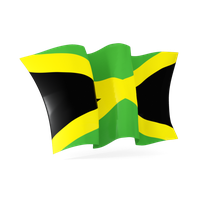 Jamaica Flag Png File PNG Image