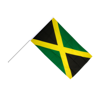 Jamaica Flag Picture PNG Image