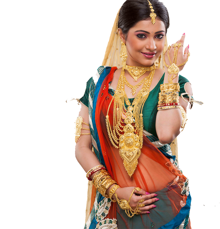 Jewellery Model PNG Image