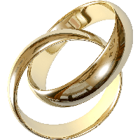 Wedding Golden Rings Png Image PNG Image
