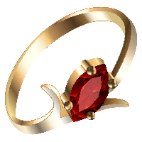 Gold Ring With Diamond Png PNG Image