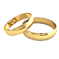 Golden Rings Png Image PNG Image