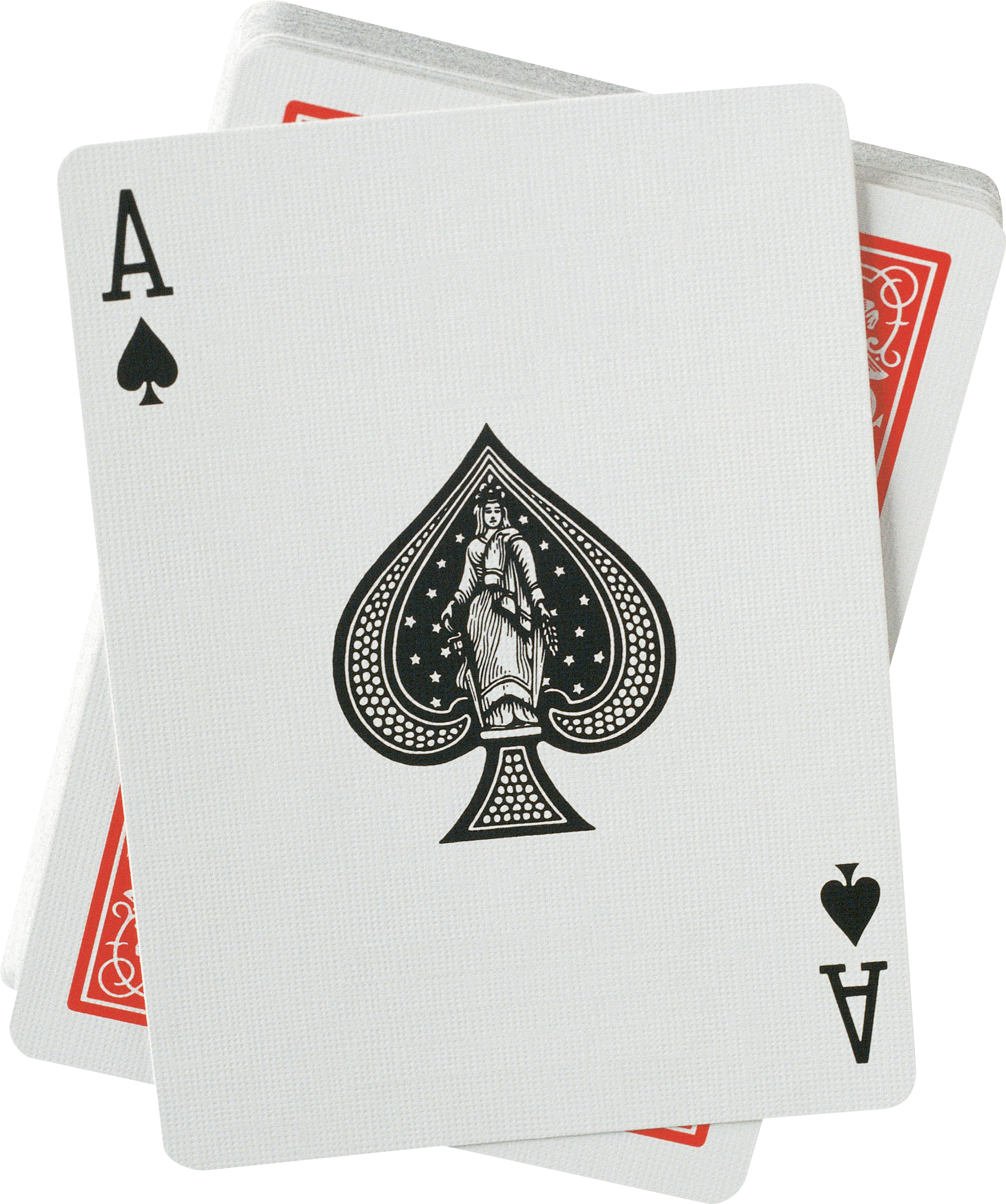United Spades Ace Of Company States Cards PNG Image
