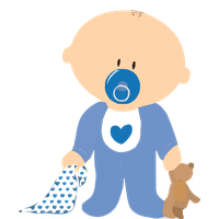 Little Baby Boy File PNG Image
