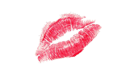 Lipstick Kiss Clipart PNG Image