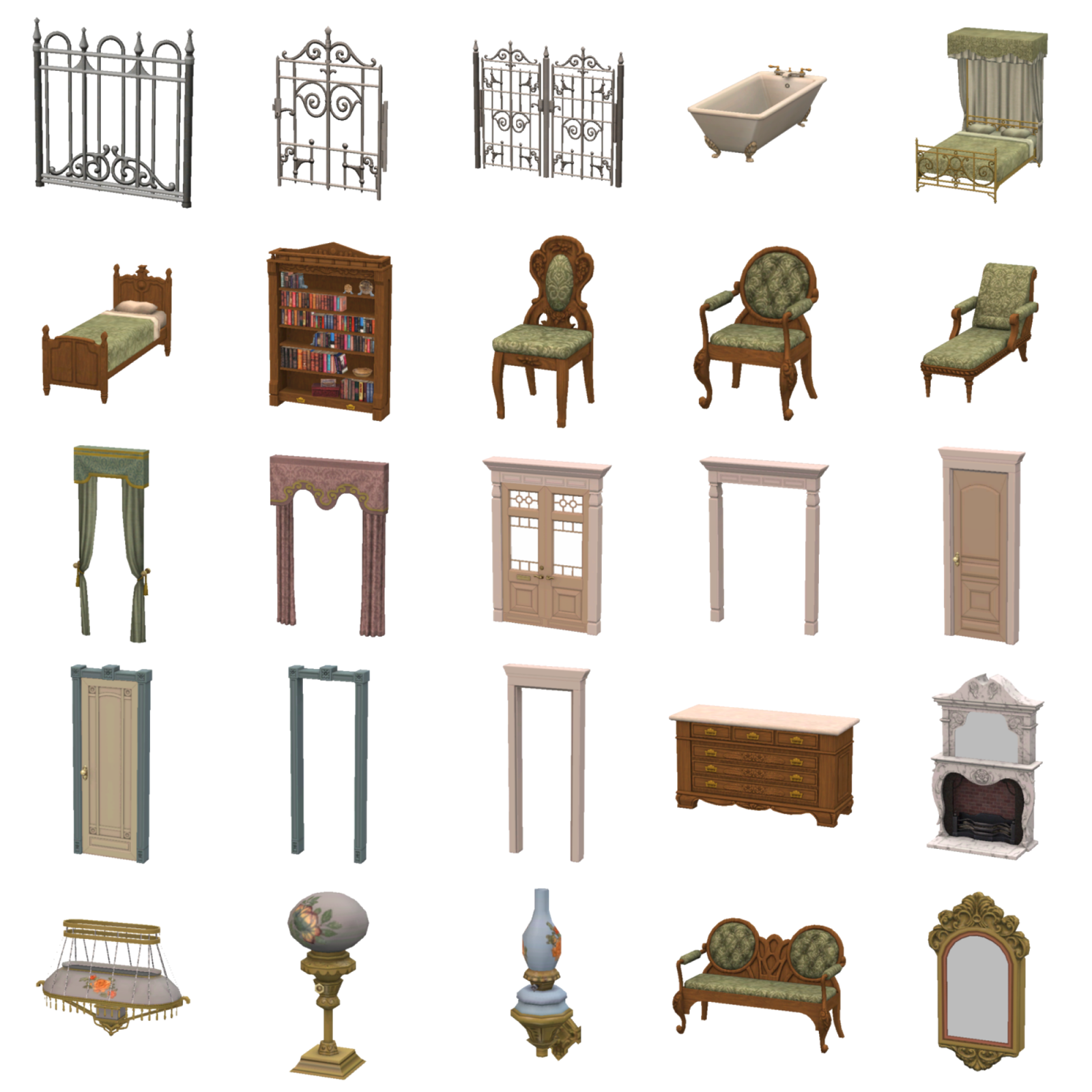 Sims Furniture Free Clipart HQ PNG Image