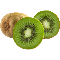 Green Cutted Kiwi Png Image PNG Image