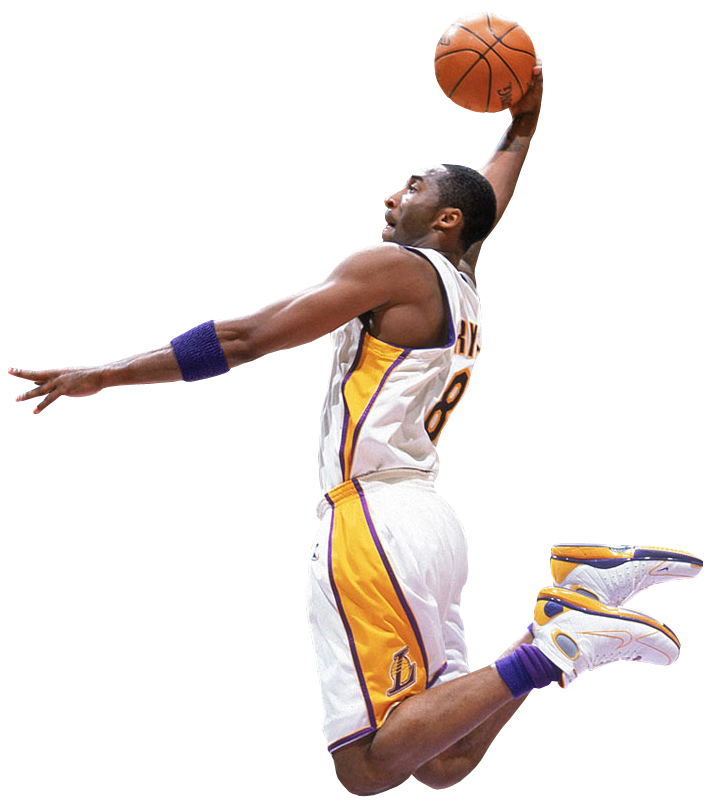 sports shoes 88f7a b883f Kobe Bryant Transparent Background PNG Image. Free Download PNG