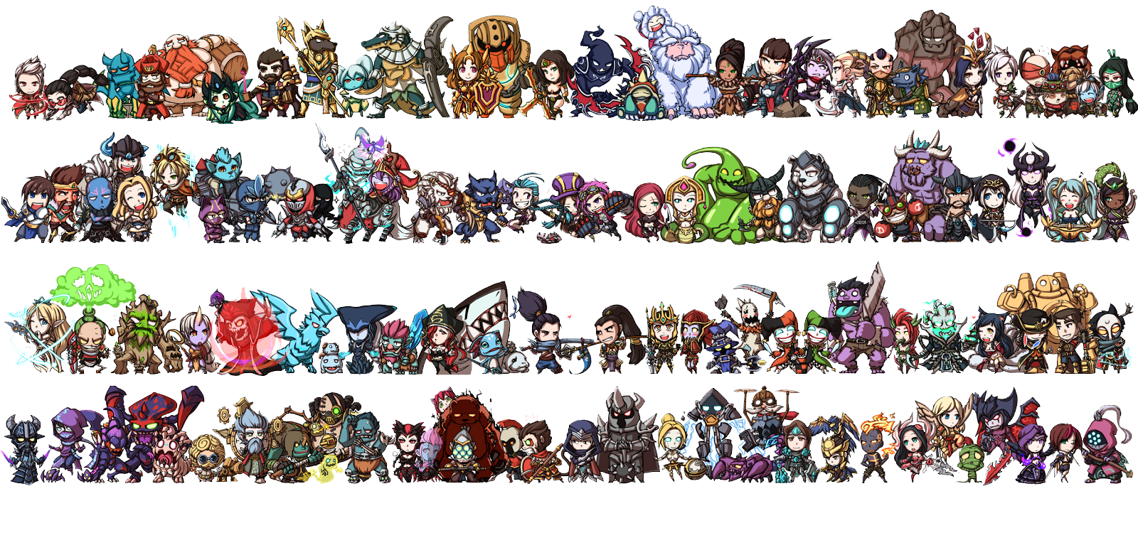 Download League Of Legends Characters Photos HQ PNG Image ...