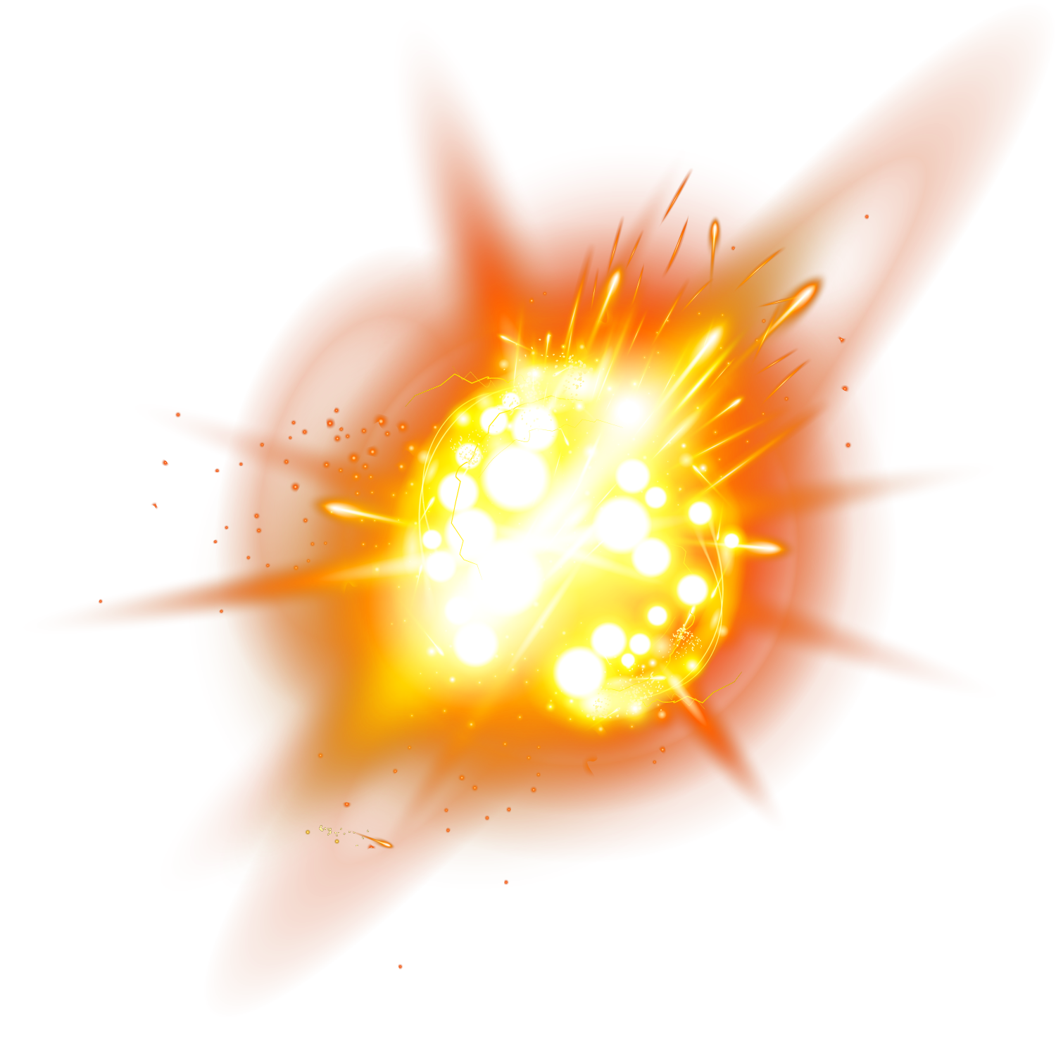 Light Explosion Effect HD Image Free PNG PNG Image
