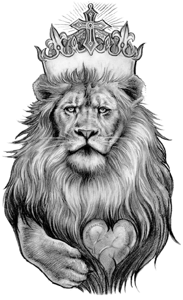Lion Tattoo Png Clipart PNG Image