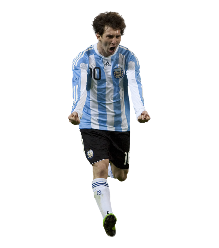 Lionel Messi Clipart PNG Image