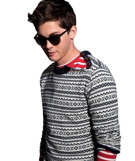 Logan Lerman Transparent PNG Image