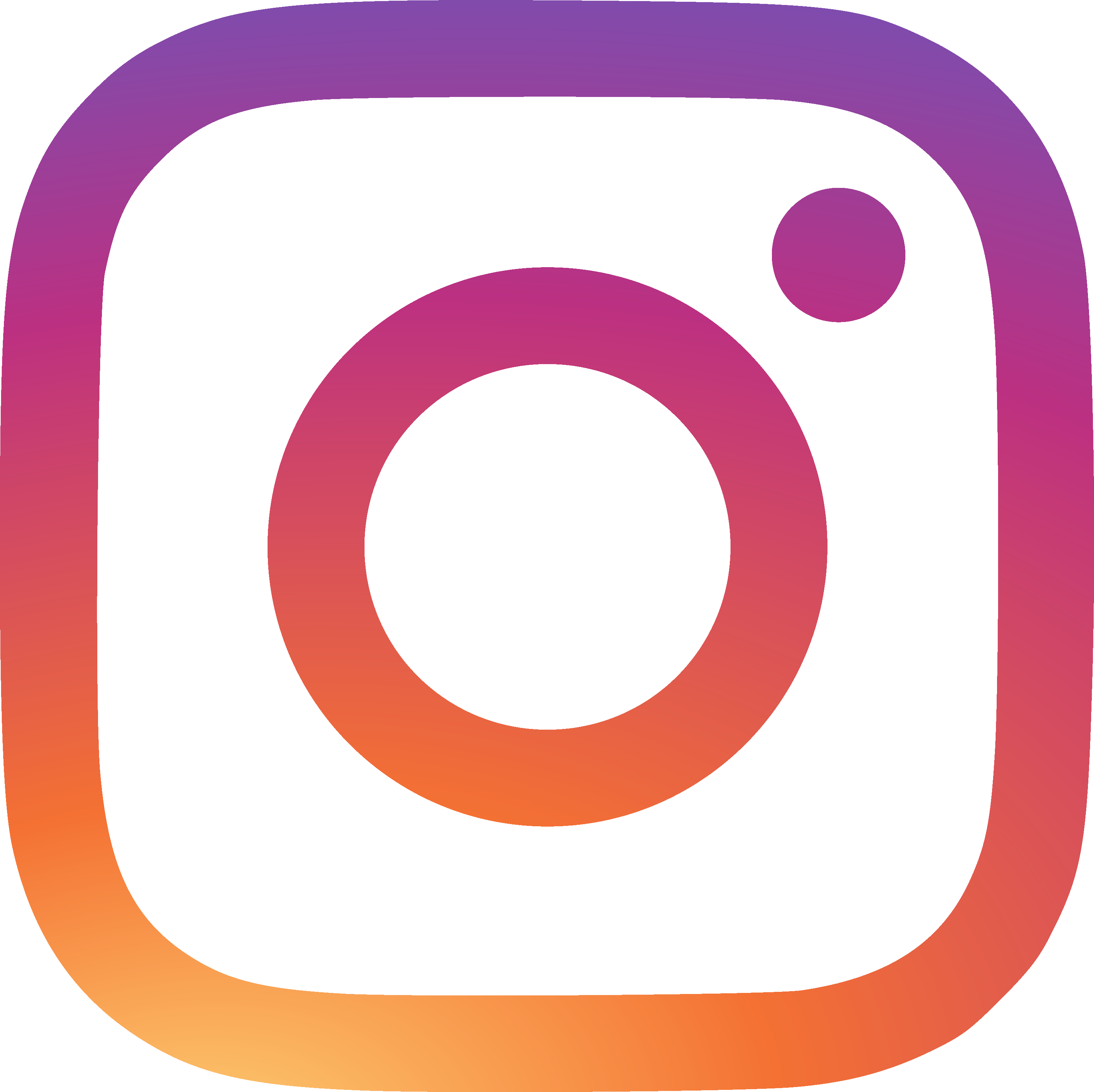 Computer Neon Instagram Icons HD Image Free PNG PNG Image