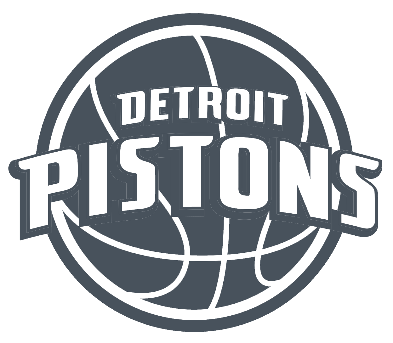Area Pistons Lakers Angeles Los Detroit Text PNG Image