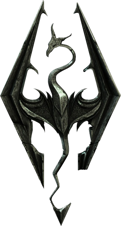 Scrolls Symbol Elder Game Video Skyrim PNG Image