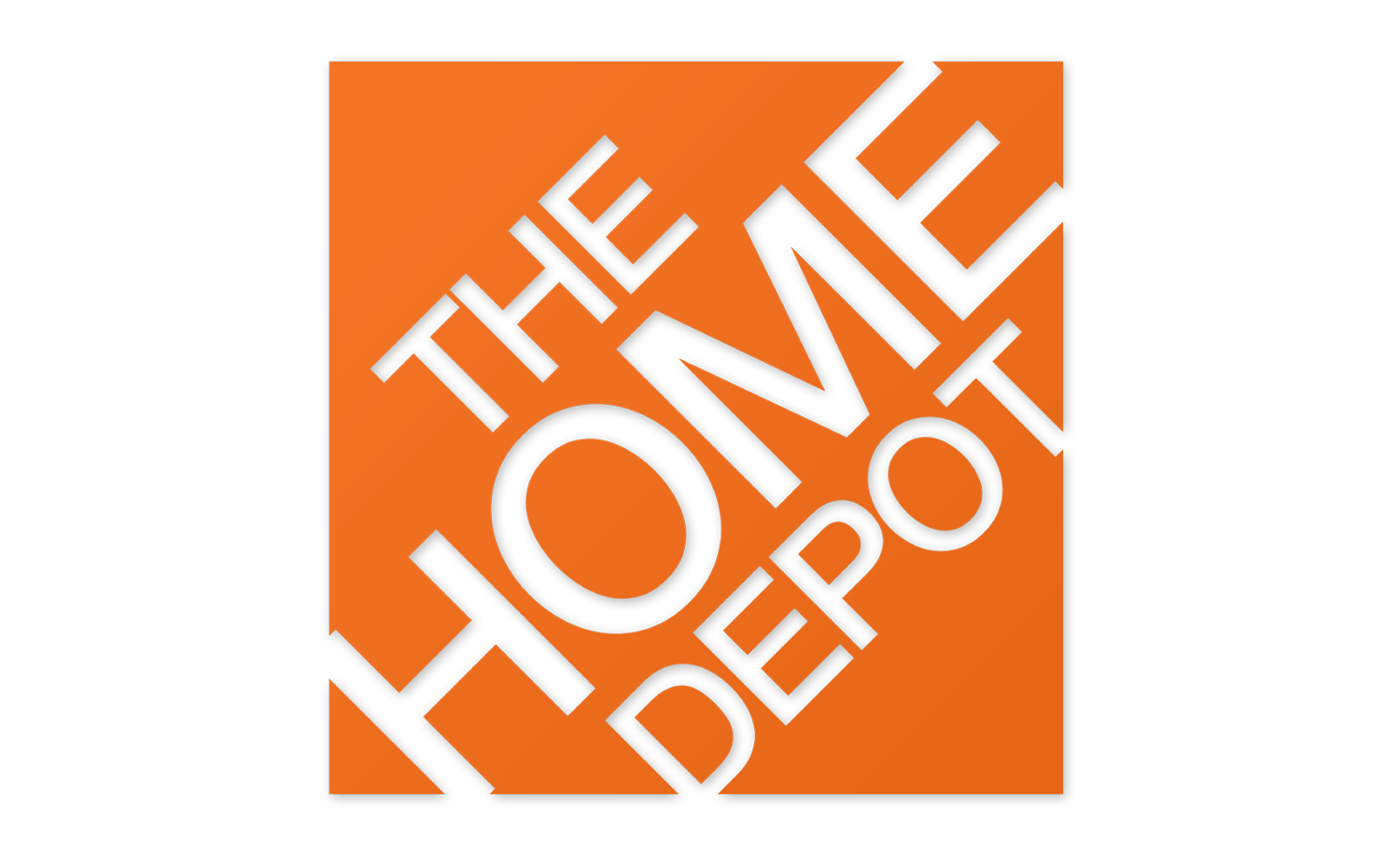 Square Angle Habitat For Logo Home Depot PNG Image