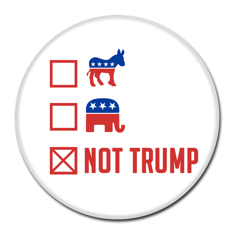 Protests Trump Campaign Area Button Against Donald PNG Image
