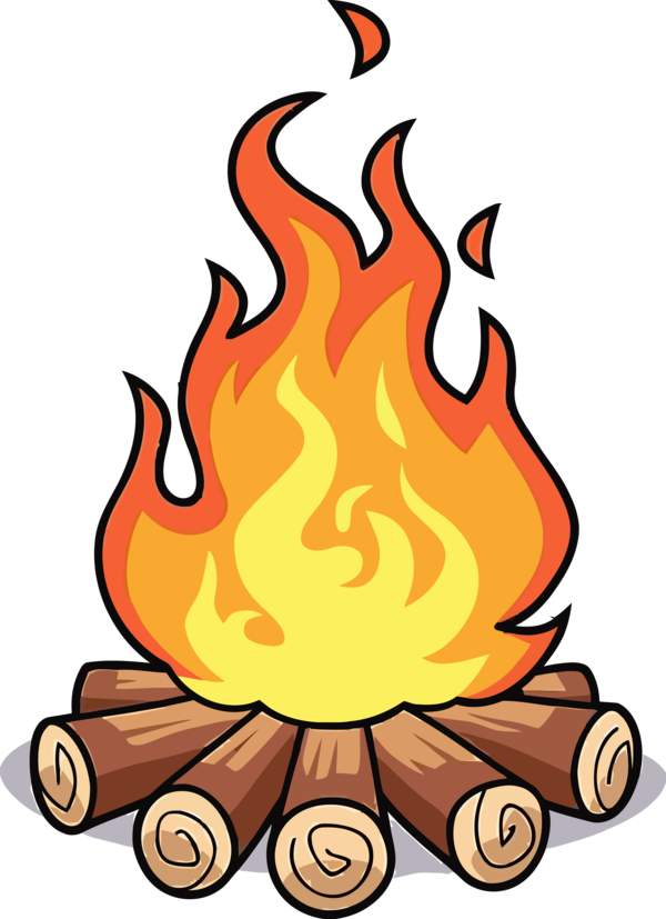 Download Lohri Cartoon Flame Fire For Happy Party Near Me Hq Png Image Freepngimg