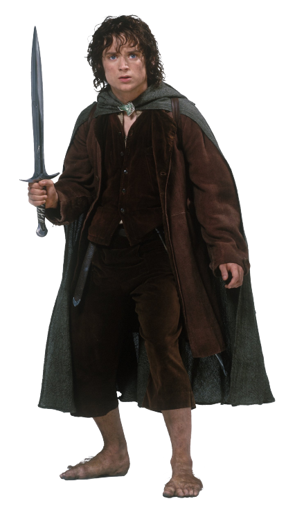 Frodo Clipart PNG Image