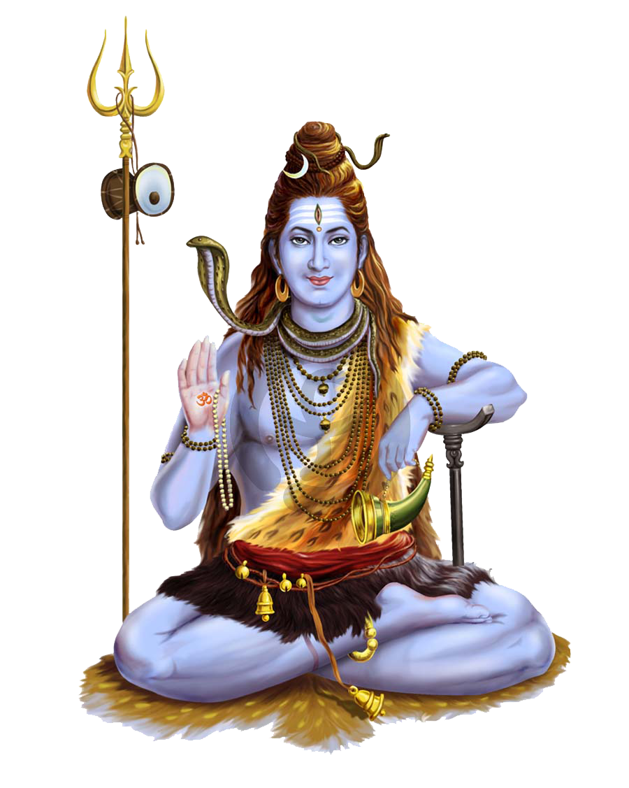 Lord Shiva Transparent Background PNG Image