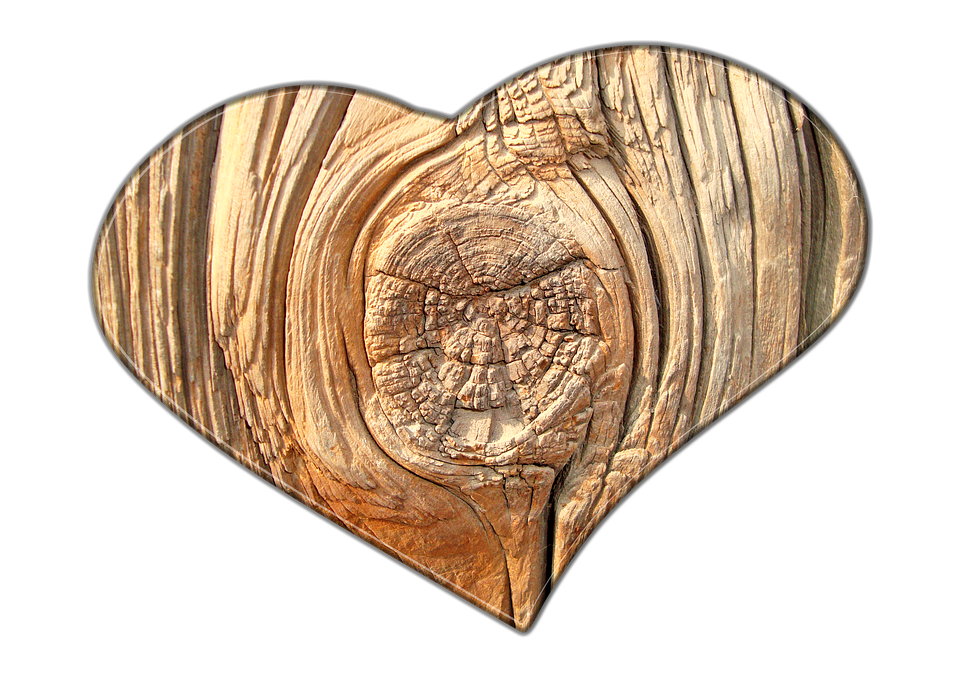 Love Wood Hd PNG Image