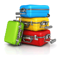 Luggage Png Clipart PNG Image