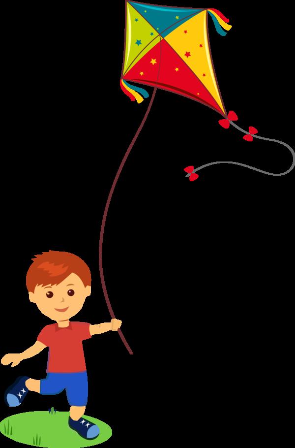 Download Makar Sankranti Kite Cartoon Line For Happy Decoration Hq