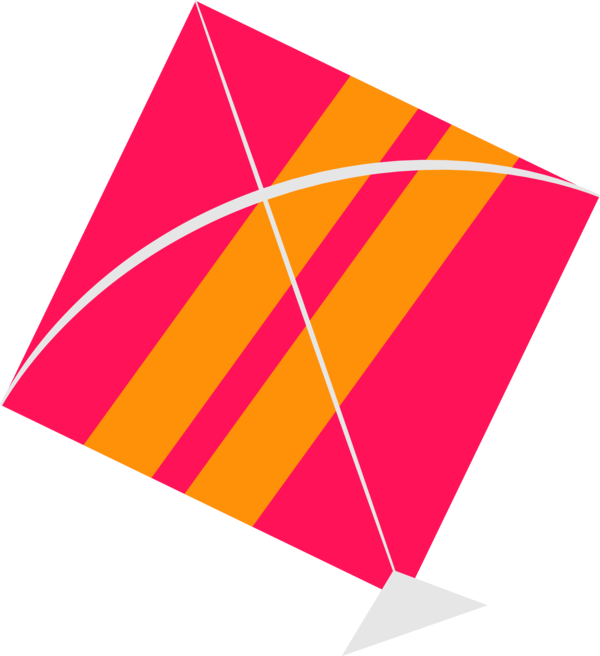 Makar Sankranti Line Triangle For Happy Ecards PNG Image