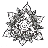 Mandala Tattoos Picture PNG Image
