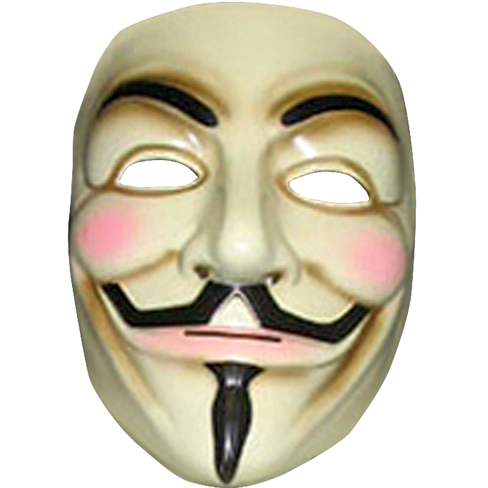 Anonymous Mask Png Clipart PNG Image