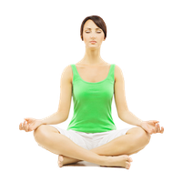 Meditation High-Quality Png PNG Image