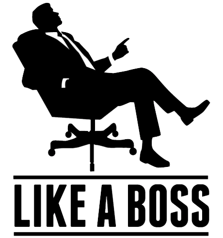 Like A Boss Transparent Background PNG Image