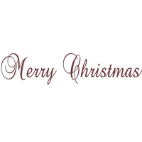 Merry Christmas Text Png Picture PNG Image