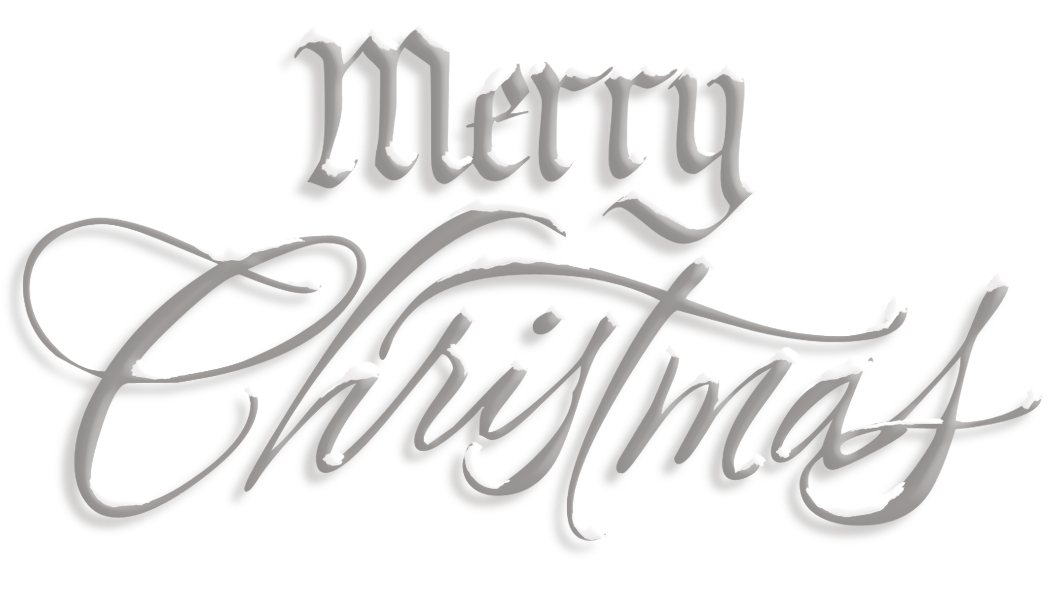 Merry Christmas Text Png Hd PNG Image