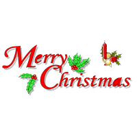 Merry Christmas Text Picture PNG Image