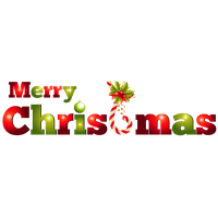 Merry Christmas Text Png Pic PNG Image