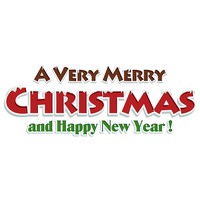 Merry Christmas Text Png Clipart PNG Image