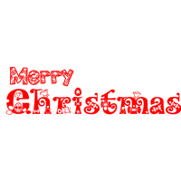 Merry Christmas Text Png PNG Image