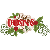 Merry Christmas Text Png Image PNG Image
