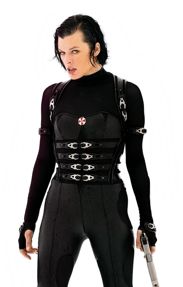 Milla Jovovich Transparent PNG Image