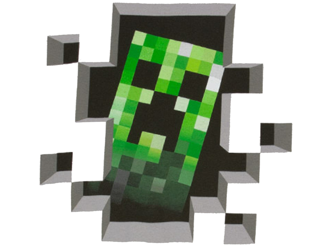 Wiki Creeper Minecraft Skin Free Photo PNG PNG Image