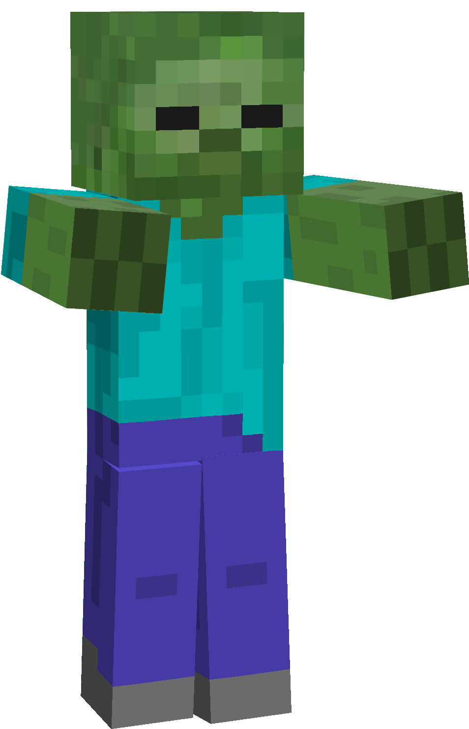 Download Minecraft Zombie Png Hq Png Image Freepngimg