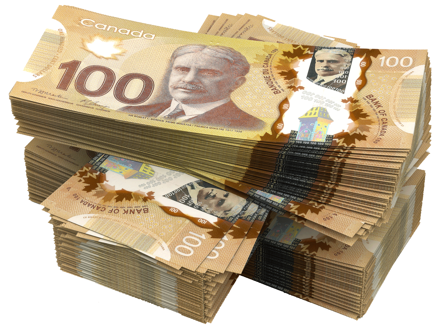 Canada Canadian Of Dollar Banknotes Money The PNG Image