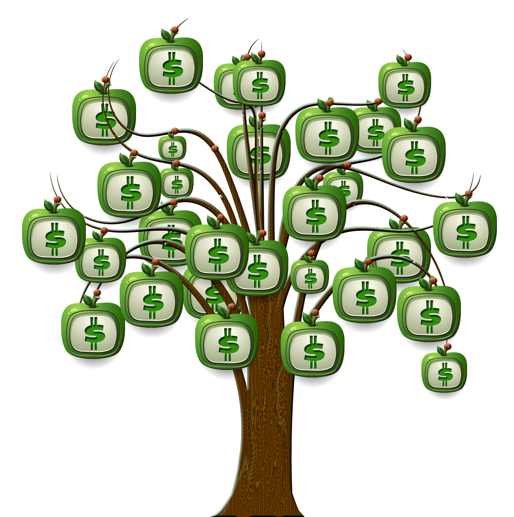 Binary Moneytree Dollar Tree Finance Option PNG Image