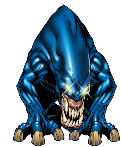 Blue Monster Clipart PNG Image