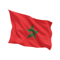 Morocco Flag Png Clipart PNG Image
