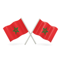 Morocco Flag Png File PNG Image