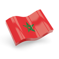 Morocco Flag Png Pic PNG Image