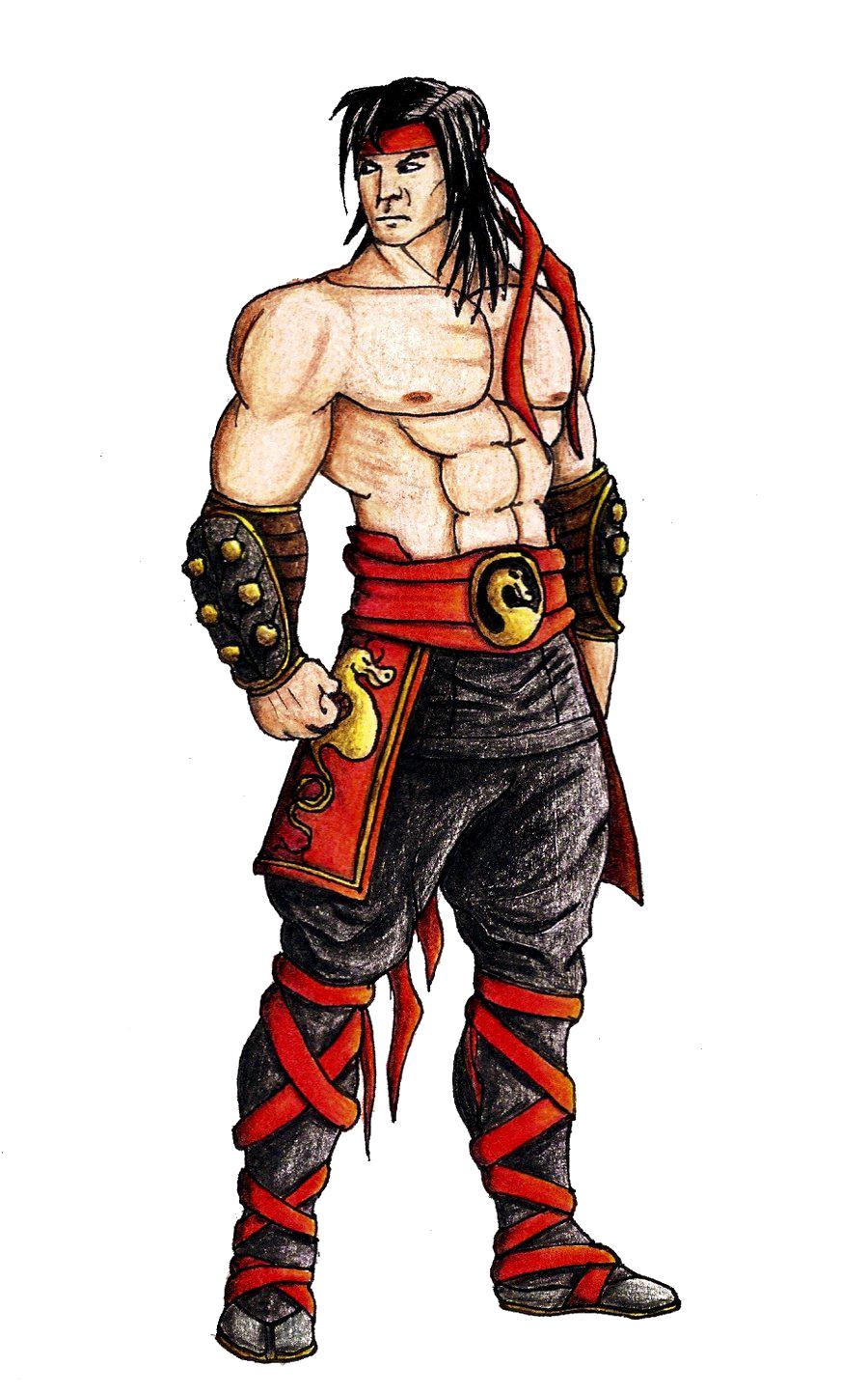 Liu Kang Tattoo: Download Mortal Kombat Liu Kang File HQ PNG Image